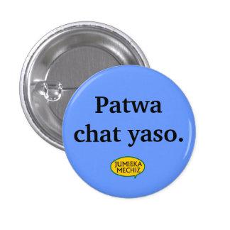 Patwa chat yaso pinback button