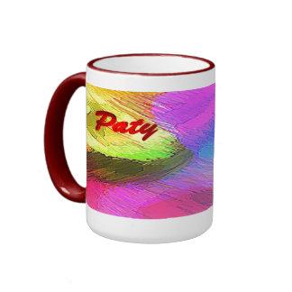 Paty Multicolor Coffee Mug