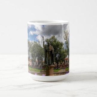 Patzcuaro, Plaza Grande coffee cup Classic White Coffee Mug
