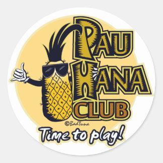 Pau Hana Club Member Stickers