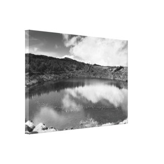 Pau Pique lake Stretched Canvas Print