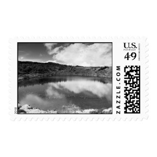 Pau Pique lake Postage