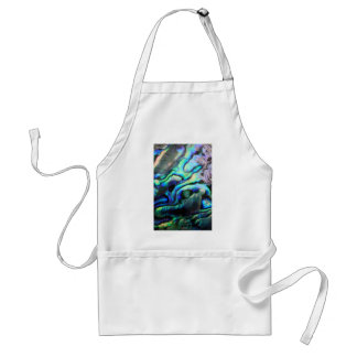 Paua abalone detail adult apron