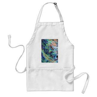 Paua abalone shell detail adult apron