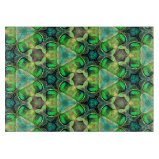 Paua Shell Kaleidoscope Cutting Board