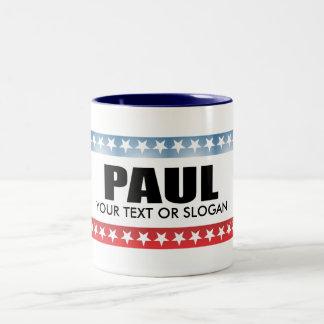 PAUL 2010 Two-Tone COFFEE MUG