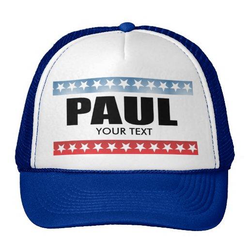 PAUL 2010 TRUCKER HAT