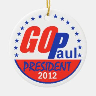 Paul 2012 Ornament