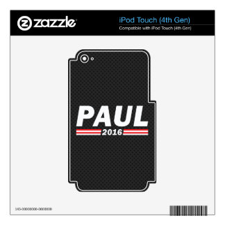 Paul 2016 (Rand Paul) Decals For iPod Touch 4G