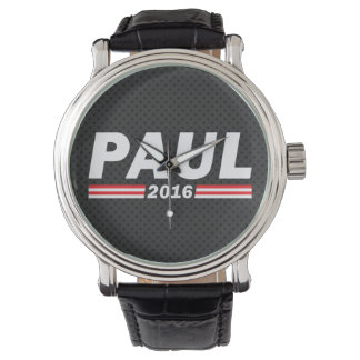 Paul 2016 (rand Paul) Relojes De Pulsera