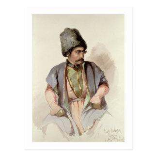 Paul - A Georgian from Tiflis, 1852 Postcard