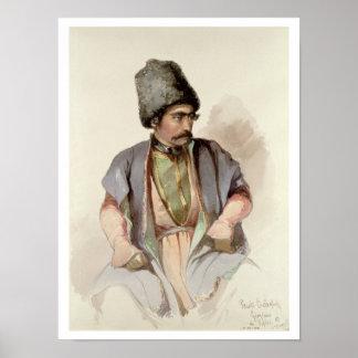 Paul - A Georgian from Tiflis, 1852 Print