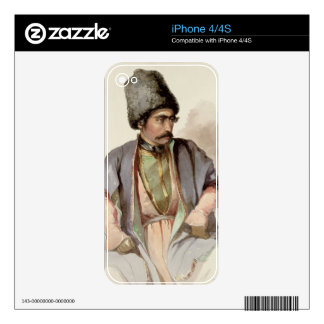 Paul - A Georgian from Tiflis, 1852 Decal For The iPhone 4