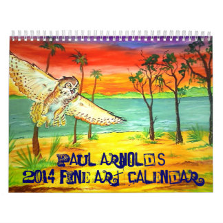 Paul Arnold's 2014 Fine Art Calendar