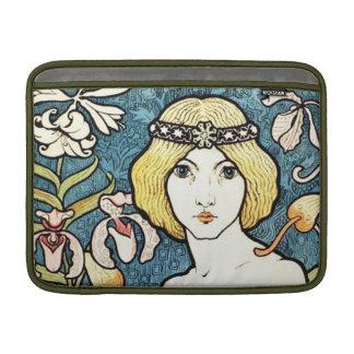 Paul Berthon Salon Des Cent Vintage Art Nouveau MacBook Air Sleeve