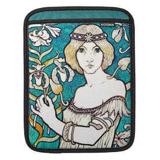 Paul Berthon Salon Des Cent Vintage Art Nouveau Sleeve For iPads