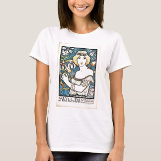 Paul Berthon Salon Des Cent Vintage Art Nouveau T-Shirt