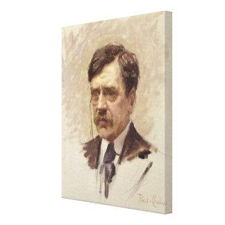 Paul Bourget  c.1895 Canvas Print