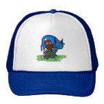 Paul Bunyan and Babe Blue Ox Cap Trucker Hat