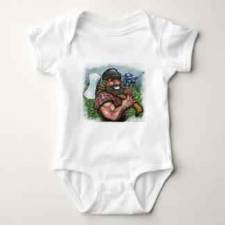 Paul Bunyan Baby Bodysuit