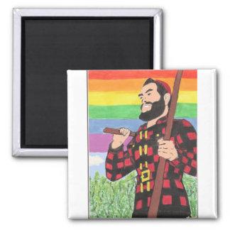 Paul Bunyan Bangor Pride Magnet