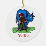 Paul Bunyan or Lumberjack Christmas Ornament