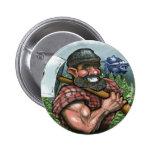 Paul Bunyan Pinback Buttons