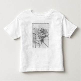 Paul Cesar Helleu at a table in a cafe Toddler T-shirt