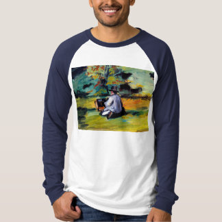 Paul Cezanne A Painter at Work impressionist art Shirt