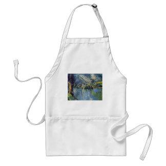 Paul Cézanne - Annecy Lake Adult Apron