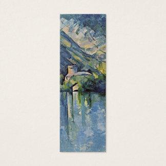 Paul Cézanne - Annecy Lake - Bookmark Mini Business Card