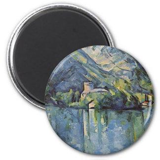Paul Cézanne - Annecy Lake Fridge Magnets