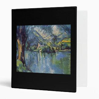 Paul Cézanne - Annecy Lake Vinyl Binders