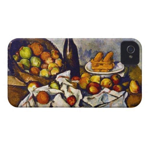 Paul Cezanne - Apple Basket Blackberry Bold Covers