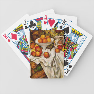 Paul Cézanne - Apples and Oranges Bicycle Playing Cards