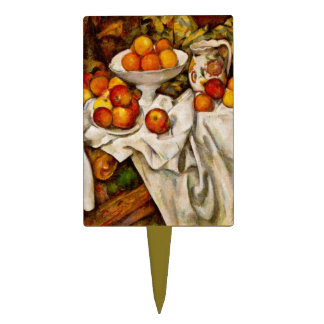 Paul Cézanne - Apples and Oranges Cake Topper