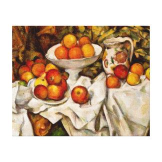 Paul Cézanne - Apples and Oranges Canvas Print