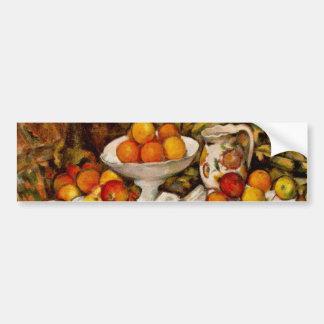 Paul Cézanne - Apples and Oranges Car Bumper Sticker