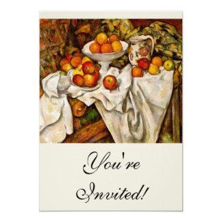 Paul Cézanne - Apples and Oranges Card