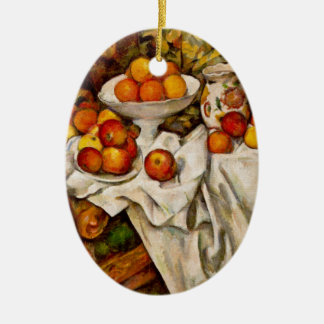 Paul Cézanne - Apples and Oranges Ceramic Ornament
