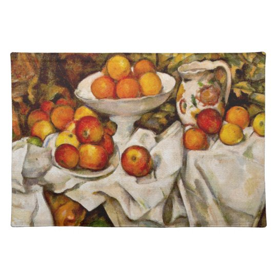 Paul Cézanne - Apples and Oranges Cloth Placemat