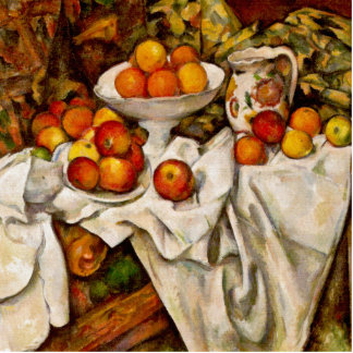 Paul Cézanne - Apples and Oranges Cutout
