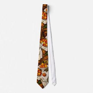 Paul Cézanne - Apples and Oranges Neck Tie