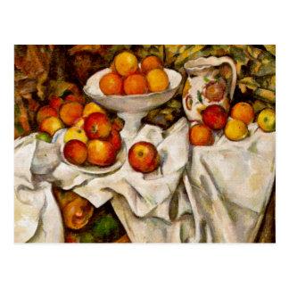 Paul Cézanne - Apples and Oranges Postcard