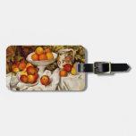 Paul Cézanne - Apples and Oranges Travel Bag Tags