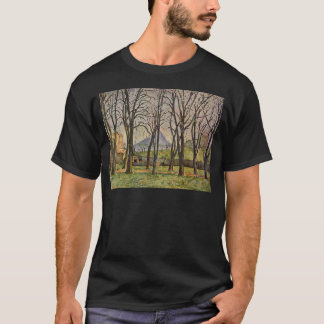 Paul Cezanne: Árboles de castaña en el Jas de Playera