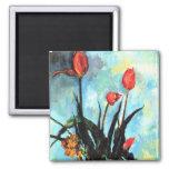 Paul Cezanne Art 2 Inch Square Magnet