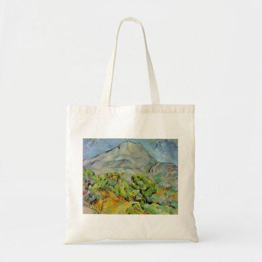 Paul Cezanne Art Budget Tote Bag