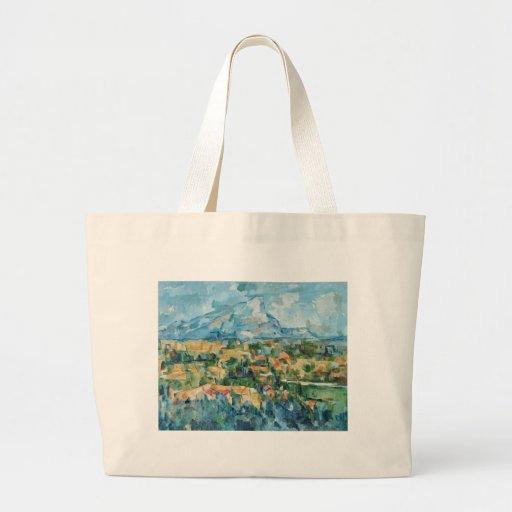 Paul Cezanne Art Large Tote Bag