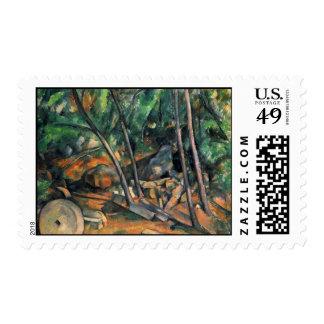 Paul Cezanne Art Postage